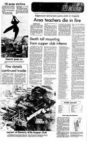 Beverly Hills Supper Club Floor Plan Journal News From Hamilton Ohio On May 30 1977 Page 1