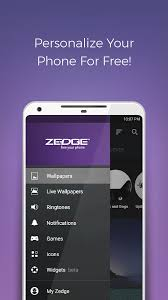 personalize my android phone zedge ringtones wallpapers apk free android apps
