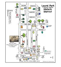 laurel park historic district a national register of historic