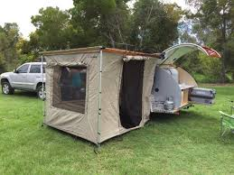 Awning Tent Image Of Riptide Teardrop Campers Awning Tent Tsunami Off Road