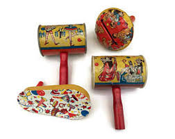 noise makers 29 1950 s tin lithograth noisemakers american metal