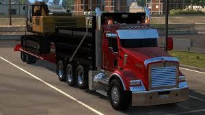 custom kenworth trucks kenworth t800 2016 custom american truck simulator mods ats mods