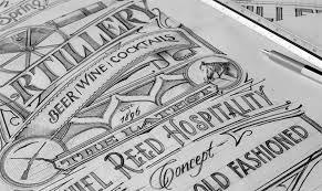 pencil sketches gallery u2014 tomasz biernat typography logo design
