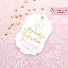 bridal shower favor tags wedding favor tag wedding gift tag bridal shower favor tag