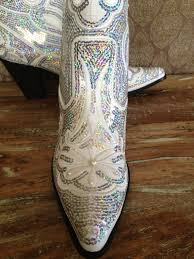s boots with bling bridal bling cowboy boots country by laboutiquebride