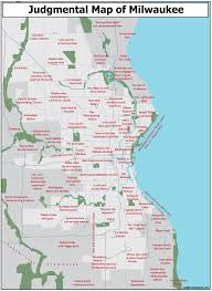 Map Of Wisconsin by Judgmental Maps Milwaukee Wi By Leviticus Lund Copr 2014