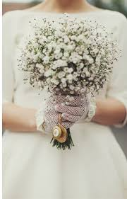 Baby S Breath Bouquets A Cheaper Way To Floral Chic Single Bloom Bouquets Onefabday Com