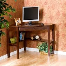 Home Office Writing Desks by Corner Laptop Writing Desk With Optional Hutch Cherry Hayneedle