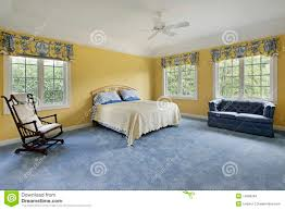 Bedrooms With Yellow Walls Bedroom With Yellow Walls Stock Images Image 15990294