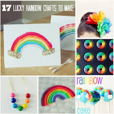17 diy lucky rainbow crafts you ll make and takes