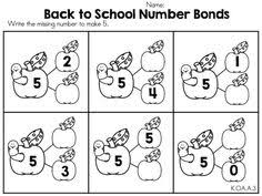 number bonds worksheets and activities so much to choose from