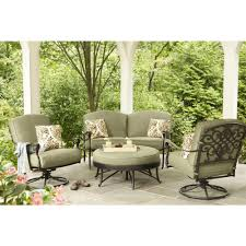 Curved Sectional Patio Furniture - new hampton bay edington curved patio loveseat sectional with