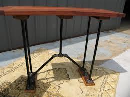 Mahogany Console Table Mahogany Console Table The Industrial Farmhouse