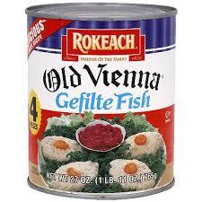 vienna gefilte fish rokeach vienna gefilte fish 27 oz pack of 6 walmart