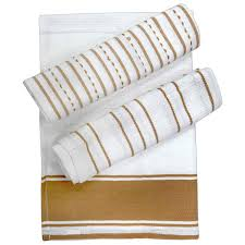 urban trendz cotton waffle weave kitchen towels tea towels set