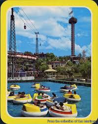 Goldrusher Six Flags Magic Mountain Gorillas Don U0027t Blog Vintage Postcards Six Flags Magic Mountain