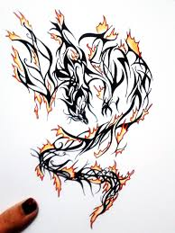 clipart library more like phoenix fire tattoo design by