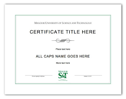 formatted printable certificates of completion templates