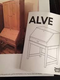 ikea alve bureau used ikea alve bureau in se4 for 10 00 shpock