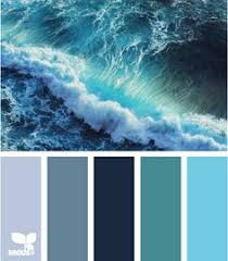 color scheme emerald green and sapphire blue hue blue grey and