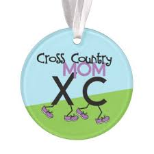 personalized cross country grass runner ornament zazzle