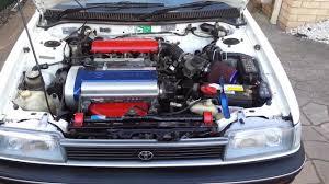 modified toyota corolla rxi ae94 toyota corolla 4age 20v silvertop engine clicking sound
