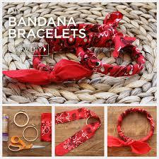 bandana wristband diy bandana bracelets by trinkets in bloom
