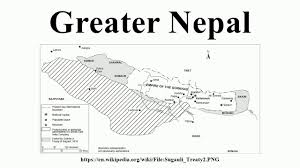 Nepal On Map Greater Nepal Youtube