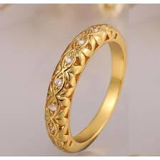 gold earrings price in pakistan buy 18 k yellow and gold plated austrian fashion ring
