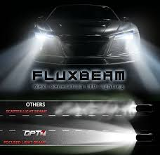 amazon com opt7 fluxbeam led headlight kit w clear arc beam