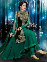 natasha couture indian party wear anarkali suits 2015 for women