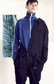 blue jumpsuit mens the s jumpsuit adam butcher for t magazine