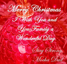 family greeting card messages merry happy