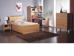 Milan Bed Frame Milan King Single Bed Frame Beech Walnut