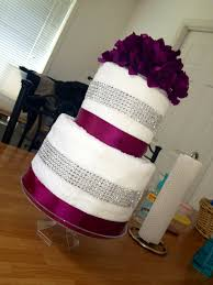 towel cakes bridal shower towel cake gifts towel cakes