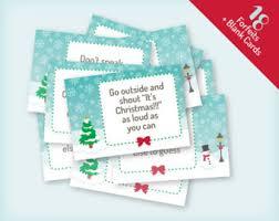 printable christmas gift exchange party game vintage village
