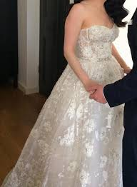 preowned wedding dress reem acra preowned wedding dress on sale 67