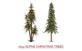 astonishing design alpine tree artificial trees santa s