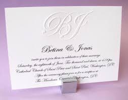 formal wording for wedding invitation