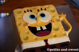 spongebob cake ideas spongebob squarepants cake