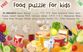 Most Popular Things For Kids Food Puzzle For Kids Android Apps On Google Play