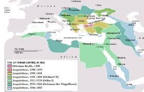 Ottoman Empire Borders Empire Beyond The Cusp