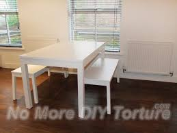 white table with bench impressive design ikea dining table ikea bjursta extendable dining