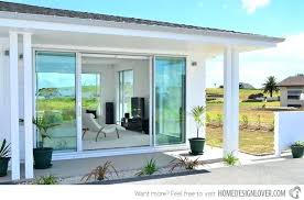 Patio Doors At Home Depot Large Sliding Glass Doors Bring Outdoors In Angies List Large