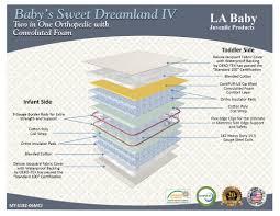 Serta Perfect Dream Crib And Toddler Bed Mattress by 100 Serta Crib Mattresses Serta Serta Perfect Start Supreme 6
