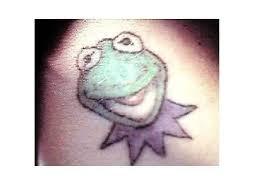 10 cute kermit the frog tattoo designs