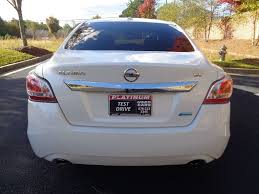 nissan altima sport 2014 2014 used nissan altima 4dr sedan i4 2 5 sv at platinum used cars