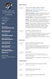 Digital Media Resume Examples by Community Manager Resume Samples Visualcv Resume Samples Database