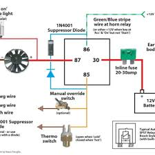 likeable wiring diagram for fan relay inspiring wiring ideas