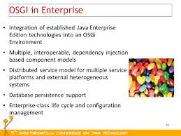 why osgi matters for enterprise java infrastructures ppt download